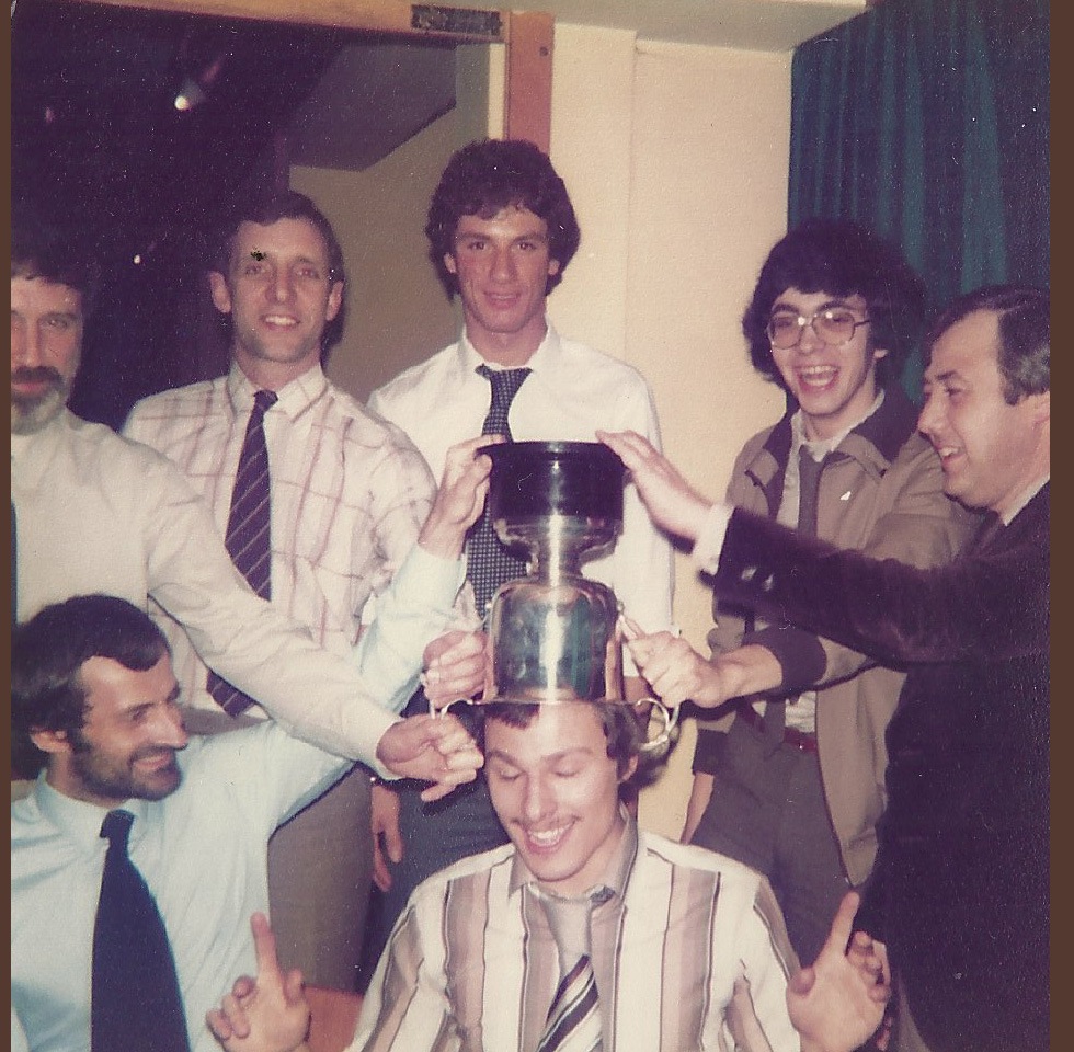 BCBC Winners of Coventry Division 1 Mens Doubles - 1979/1980