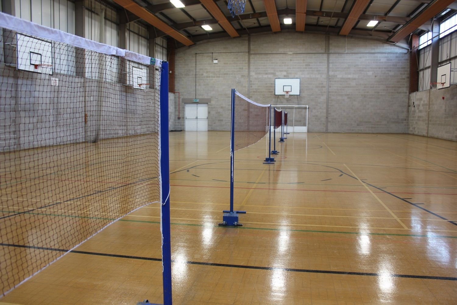 Sports Hall Badminton Courts