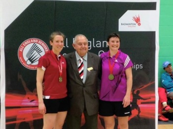 Zodee wins over 35s All England womens doubles title