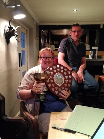 Louise Taylor wins Bob Hendrick Shield and Coventry League Chairmans Cup